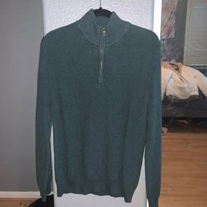 quarter zip sweater!
